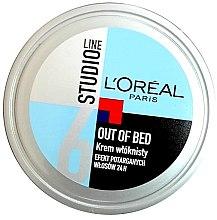 Парфюми, Парфюмерия, козметика Моделиращ крем за коса - L'Oreal Paris Studio Line Out of Bed Cream