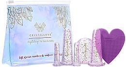 Парфюмерия и Козметика Силиконови вендузи за масаж на лице и тяло - Crystallove Crystalcup For Face & Body