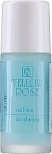 Парфюмерия и Козметика Рол-он дезодорант за мъже - Yellow Rose Deodorant Blue Roll-On