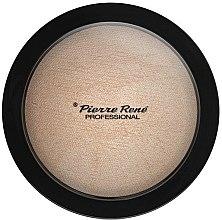 Парфюми, Парфюмерия, козметика Пудра-хайлайтър за лице - Pierre Rene Face Highlighting Powder