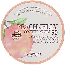 Парфюмерия и Козметика Успокояващ гел за тяло - Skinfood Peach Jelly Soothing Gel