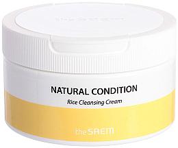 Парфюмерия и Козметика Почистващ крем за лице с ориз - The Saem Natural Condition Rice Cleansing Cream