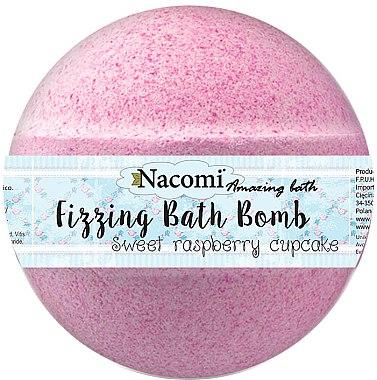 "Бомбичка за вана ""Малина"" - Nacomi Raspberry Bath Bomb — снимка N1"