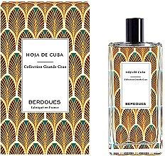 Парфюмерия и Козметика Berdoues Hoja de Cuba - Парфюмна вода (тестер с капачка)