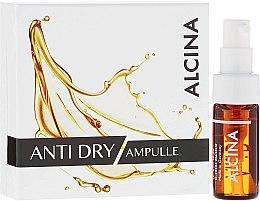 Парфюмерия и Козметика Ампули за лице против бръчки за суха кожа - Alcina Anti Dry Ampulle