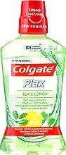 """Парфюмерия и Козметика Вода за уста """"Чай и лимон"""" - Colgate Plax Tea&Lemon"""