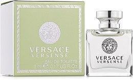 Парфюми, Парфюмерия, козметика Versace Versense - Тоалетна вода ( мини )