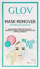 Парфюмерия и Козметика Ръкавици за отстраняване на маска , розови - Glov Mask Remover