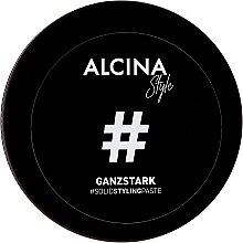 Парфюмерия и Козметика Моделираща паста за коса - Alcina Style Ganzstark