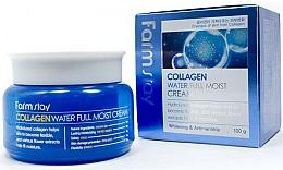 Парфюмерия и Козметика Овлажняващ крем за лице с колаген - FarmStay Collagen Water Full Moist Cream