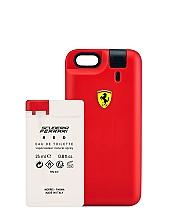 Парфюмерия и Козметика Ferrari Scuderia Ferrari Red - Комплект (тоал. вода (мостра)/25ml + кейс за тел.)