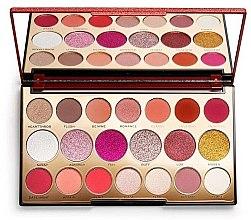 Парфюмерия и Козметика Палитра сенки за очи, 20 цвята - Makeup Revolution Precious Stone