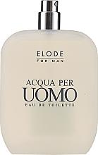 Парфюмерия и Козметика Elode Acqua Per Uomo - Тоалетна вода (тестер без капачка)