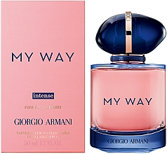 Парфюмерия и Козметика Giorgio Armani My Way Intense - Парфюмна вода