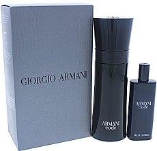Парфюми, Парфюмерия, козметика Giorgio Armani Armani Code - Комплект (edt/75ml + edt/15ml)