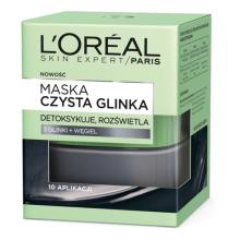 Парфюми, Парфюмерия, козметика Озаряваща маска за лице с глина и въглен - L'Oreal Paris Skin Expert