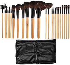 Парфюми, Парфюмерия, козметика Професионален комплект четки за грим, 24 бр - Tools For Beauty