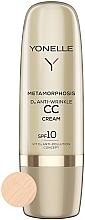 Парфюмерия и Козметика СС крем против бръчки SPF 10 - Yonelle Metamorphosis D3 Anti Wrinkle CC Cream SPF10