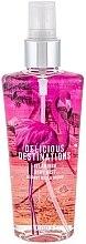 Парфюмерия и Козметика Спрей за тяло - Delicious Destinations Flamingo Body Mist