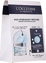 Парфюмерия и Козметика Комплект за лице - L'Occitane Aqua Reotier (крем/50ml + маска/6ml)