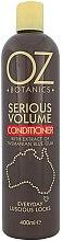 Парфюмерия и Козметика Балсам за коса - Xpel Marketing Ltd Oz Botanics Serious Volume Conditioner