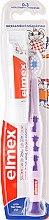 Парфюмерия и Козметика Комплект четка за зъби и паста, лилав цвят - Elmex Learn Toothbrush Soft + Toothpaste 12ml