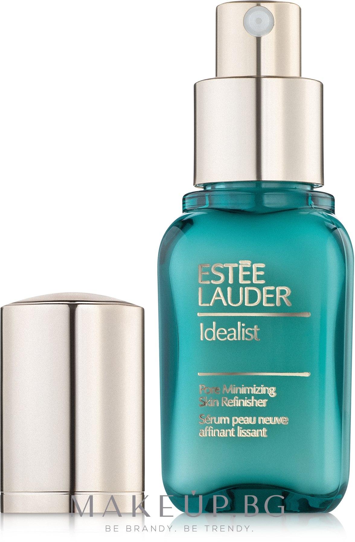 Серум подобрява структурата на кожата - Estee Lauder Idealist Pore Minimizing Skin Refinisher — снимка 30 ml