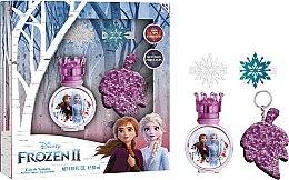 Парфюмерия и Козметика Disney Frozen - Комплект (тоал. вода/30 + ключодържател)