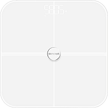 Парфюмерия и Козметика Електронен смарт кантар VO4010, бял - Concept Body Composition Smart Scale