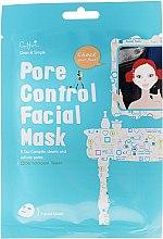 Парфюмерия и Козметика Маска за лице, свиваща порите, от плат - Cettua Pore Control Facial Mask