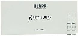 Парфюмерия и Козметика Ампулен концентрат - Klapp Beta Glucan Skin Calming Concentrate Ampoules