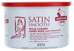 Парфюми, Парфюмерия, козметика Горещ восък с екстракт от череша и витамин Е - Satin Smooth Wild Cherry Hard Wax