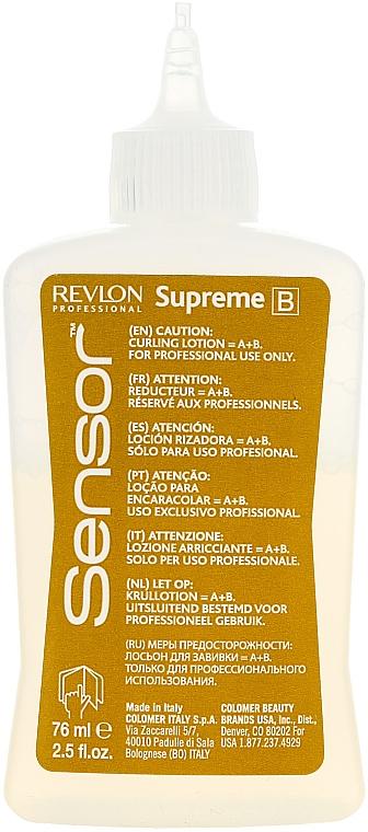 Продукт с химическо покритие при боядисана коса - Revlon Professional Sensor Perm-Supreme — снимка N3