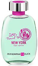 Парфюми, Парфюмерия, козметика Mandarina Duck Let's Travel To New York For Woman - Тоалетна вода (тестер без капачка)