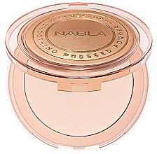 Парфюми, Парфюмерия, козметика Компактна пудра за лице - Nabla Close-Up Smoothing Pressed Powder