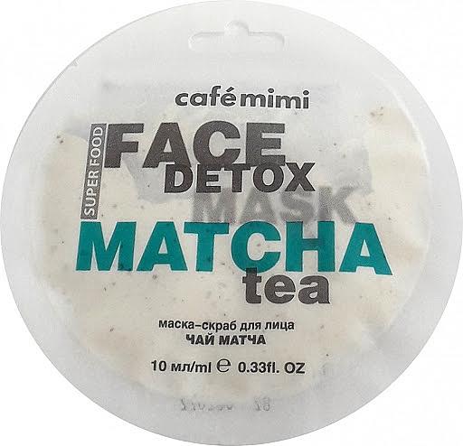Маска-скраб за лице матча и алое вера - Cafe Mimi Face Mask