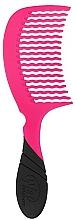 Парфюмерия и Козметика Гребен за коса, розов - Wet Brush Pro Detangling Comb Pink
