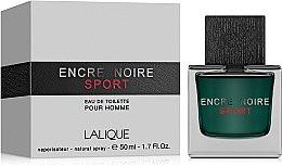 Парфюми, Парфюмерия, козметика Lalique Encre Noire Sport - Тоалетна вода