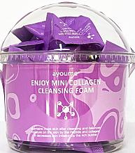 Парфюмерия и Козметика Комплект измиваща колагенова пяна за лице - Ayoume Enjoy Mini Collagen Cleansing Foam