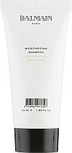 Парфюмерия и Козметика Овлажняващ шампоан за коса - Balmain Paris Hair Couture Moisturizing Shampoo Travel Size