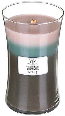 Ароматна свещ в чаша - WoodWick Hourglass Trilogy Candle Ocean Breeze — снимка N3