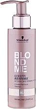Парфюмерия и Козметика Есенция за интензивна грижа с кератин за руса коса - Schwarzkopf Professional BlondMe Keratin Restore Intense Care Bonding Potion