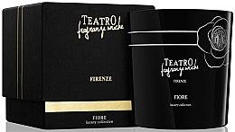 Парфюми, Парфюмерия, козметика Аромартна свещ - Teatro Fragranze Uniche Luxury Collection Fiore Scented Candle