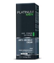 Парфюми, Парфюмерия, козметика Крем против бръчки - Dr Irena Eris Platinum Men Age Power Extreme Anti-wrinkle Cream