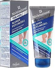 Парфюмерия и Козметика Кремообразен дезодорант за крака - Farmona Nivelazione For Men Antiperspirant Foot Cream