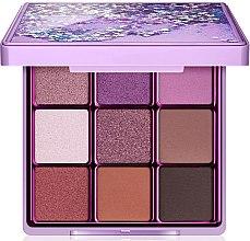 Парфюми, Парфюмерия, козметика Палитра сенки за очи, 9 цвята - Makeup Revolution I Heart Revolution Glitter Eyeshadow