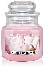 Парфюми, Парфюмерия, козметика Ароматна свещ в бурканче - Country Candle Blushberry Frose