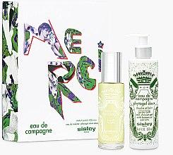 Парфюми, Парфюмерия, козметика Sisley Eau De Compaigne Merci Gift Set - Комплект (тоал. вода/100ml+душ гел/250ml)