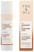 Парфюмерия и Козметика Подхранващ балсам за устни - You & Oil Nourish & Nurture Lip Balm
