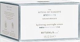 Парфюми, Парфюмерия, козметика Нощен хидратиращ крем за лице - Rituals The Ritual Of Namaste Hydrating Overnight Cream